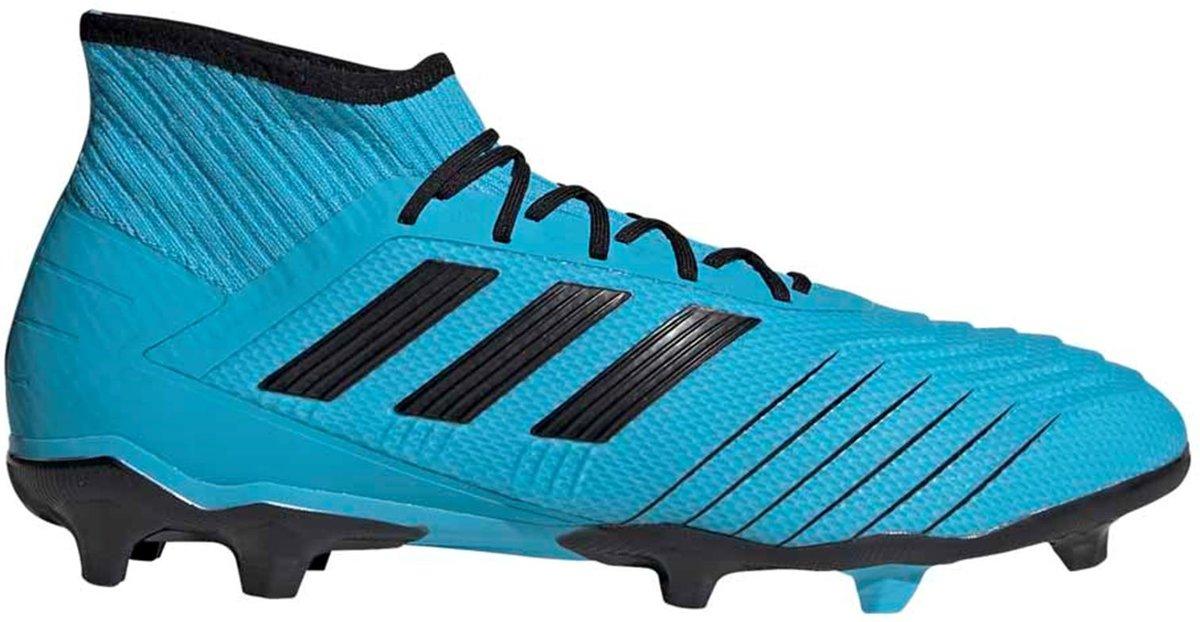 Adidas Predator 19.2 FG Voetbalschoenen Grasveld blauw licht 46