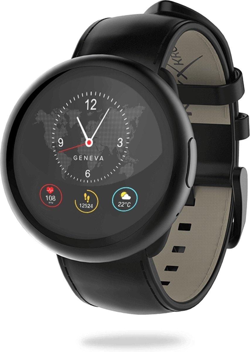 MyKronoz ZeRound2 HR premium smartwatch - Zwart kopen