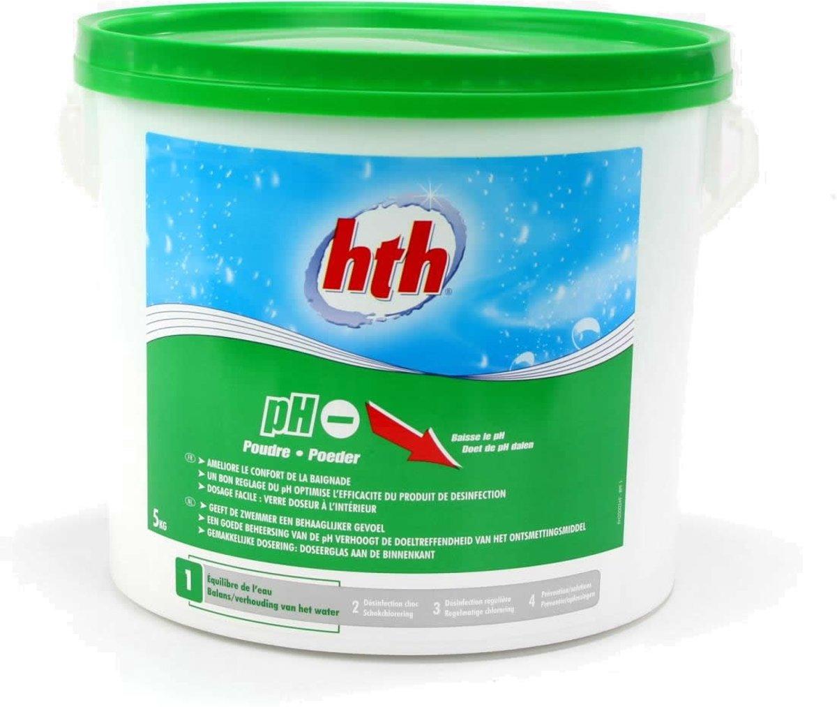 HTH pH minus poeder 5 kg