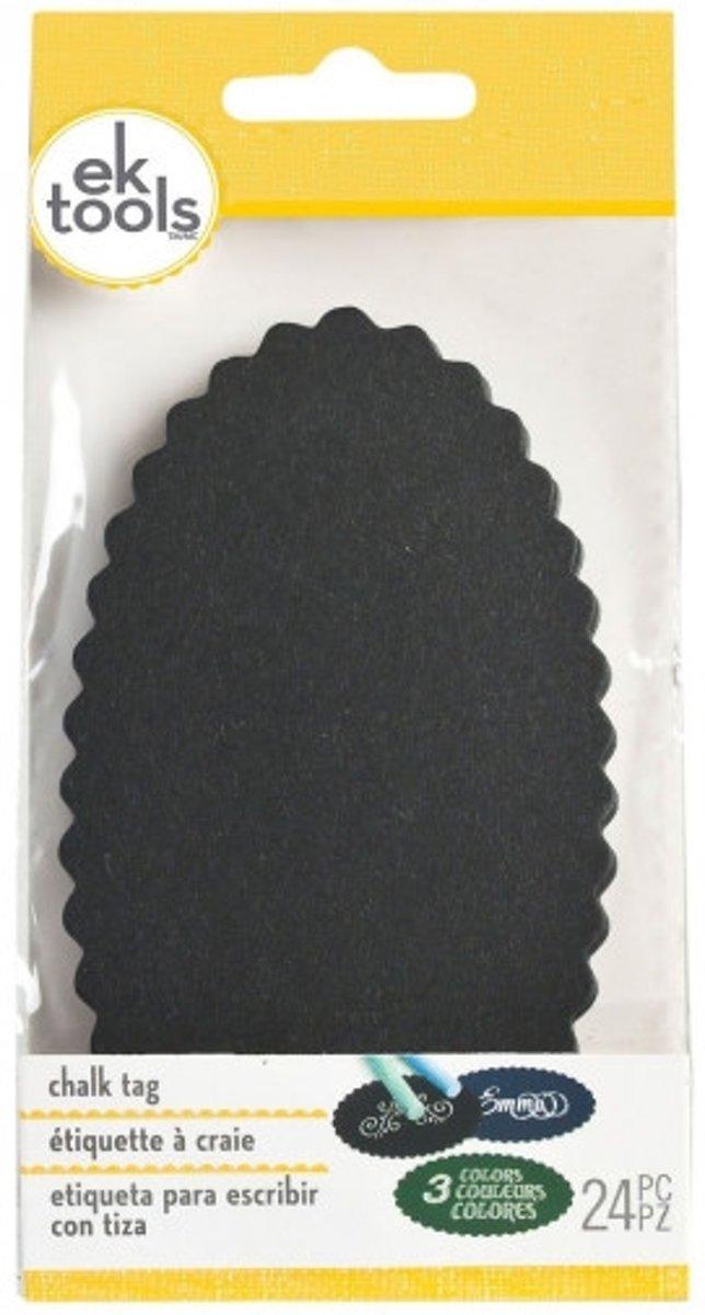 Afbeelding van product EK tools chalk tag pad scallop oval