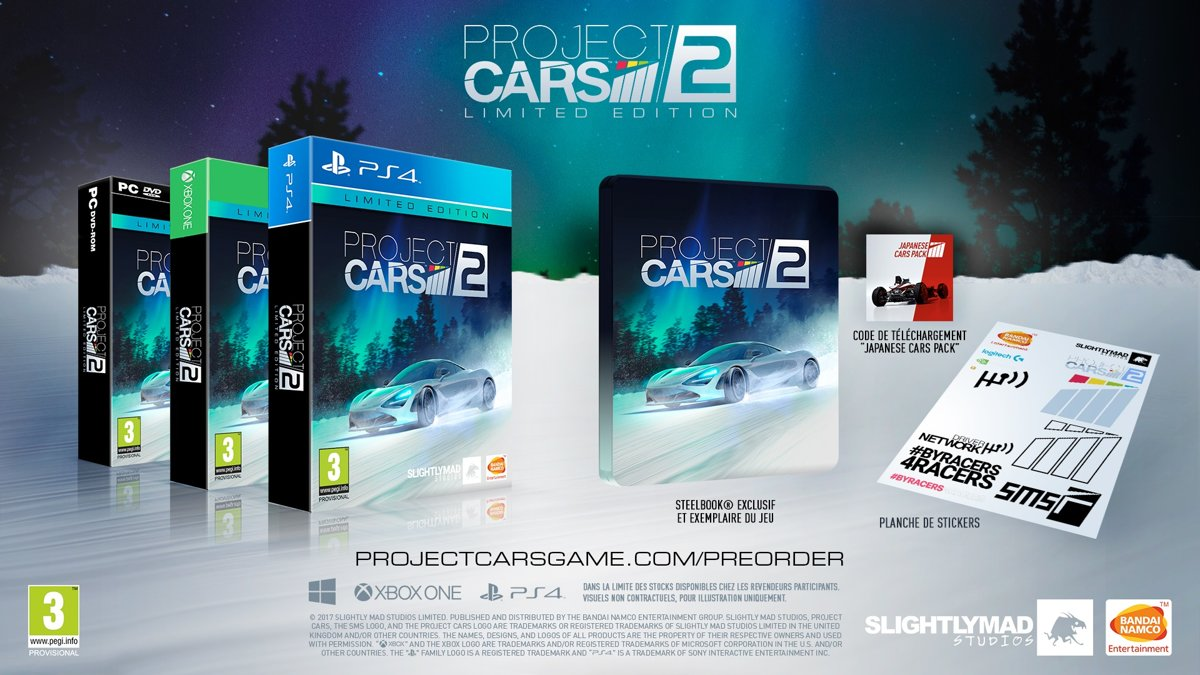 Project Cars 2 - Limited Edition Xbox One