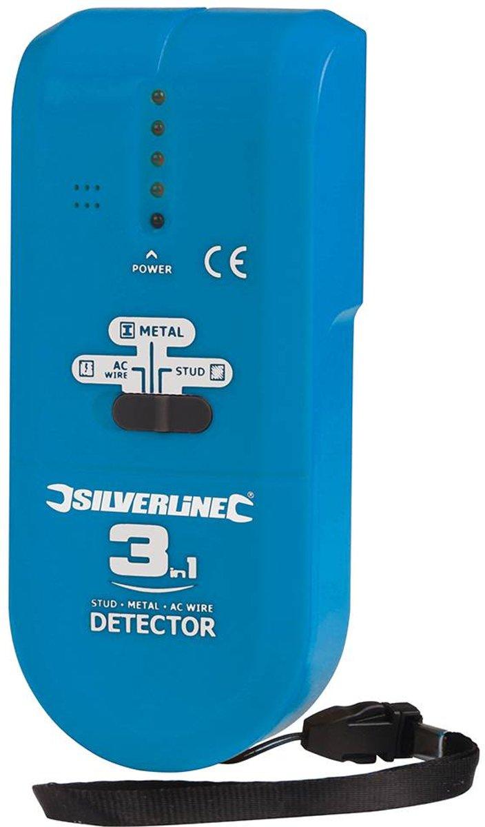 3-In-1 Detector, Compact (1 X 9 V (Pp3)) kopen