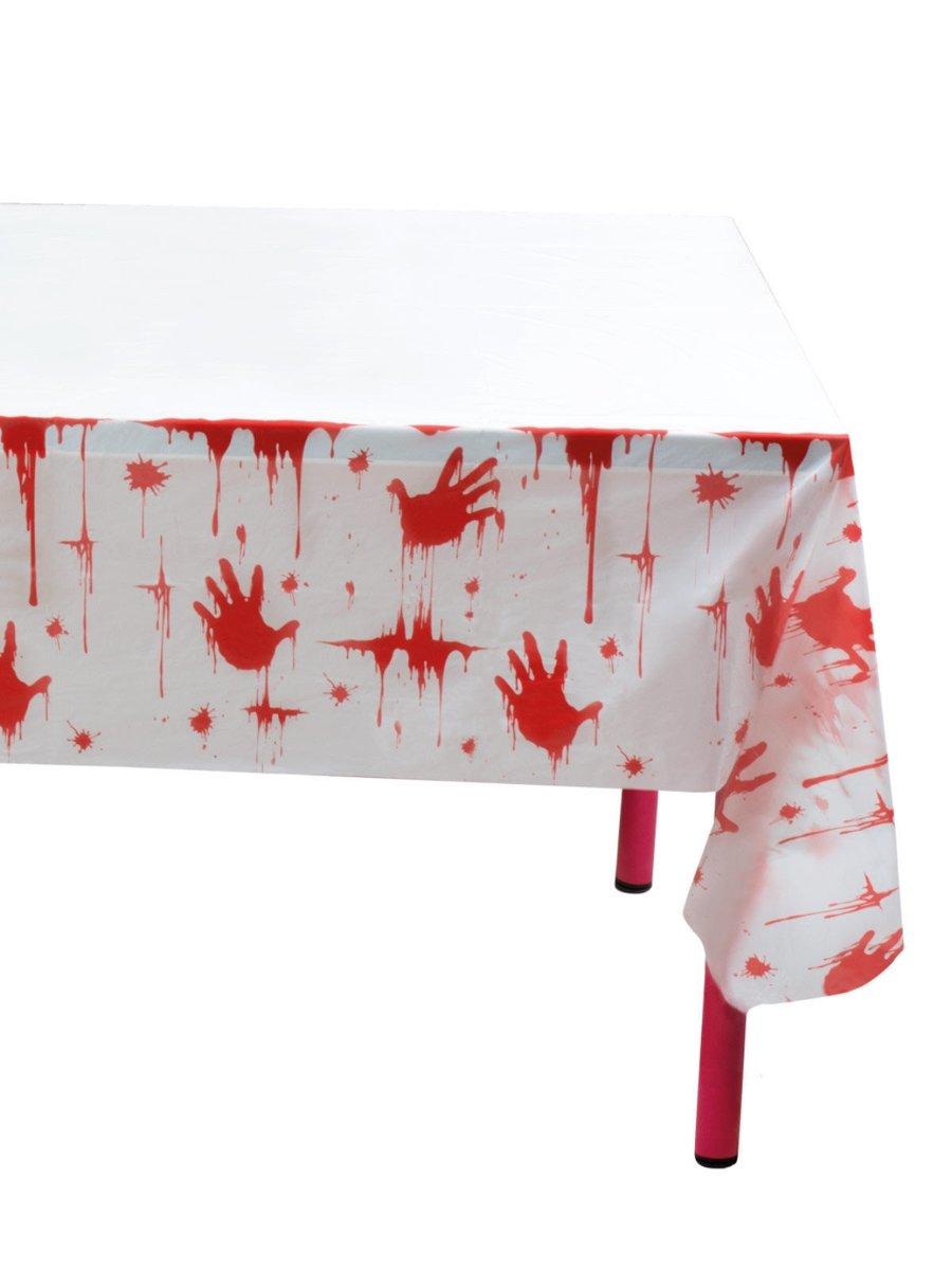 tafelkleed bloederig 135 x 275 cm kopen