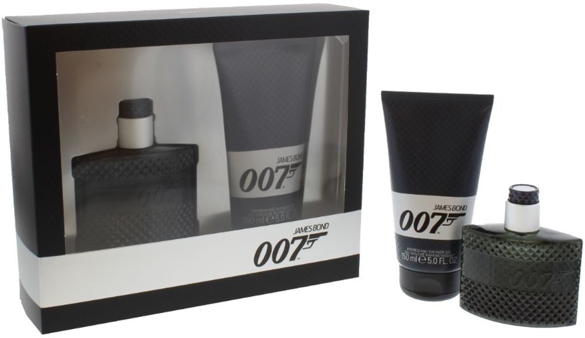 James Bond 007 Geschenkset Eau De Toilette 50 ml & Douchegel 150 ml