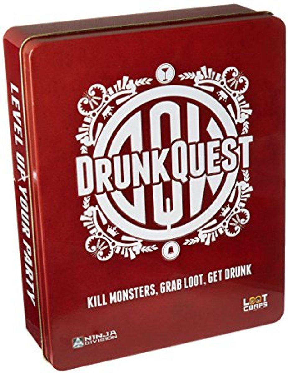 Drunkquest Tin Partyspel (Engelstalig)