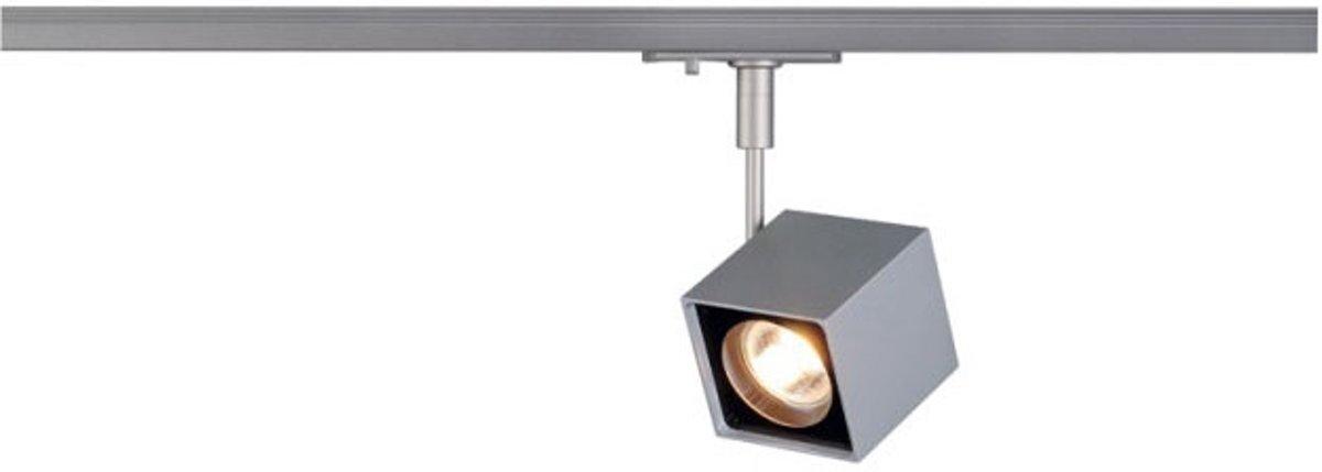 ALTRA DICE SPOT, vierkant, zilvergrijs/zwart, GU10, max. 50W, incl. 1-fase adapter kopen
