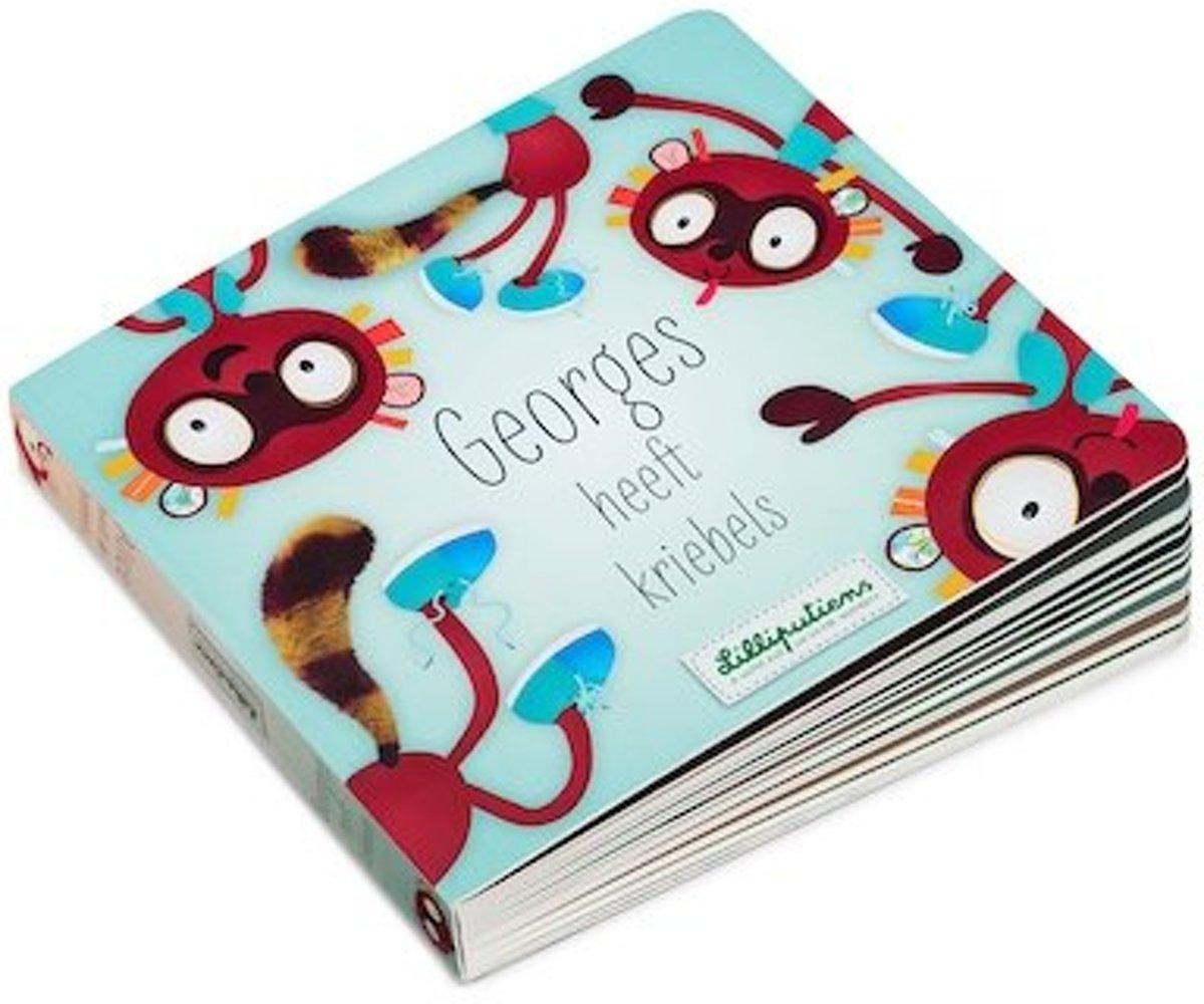 Lilliputiens omkeerbaar boek Georges heeft kriebels NL kopen