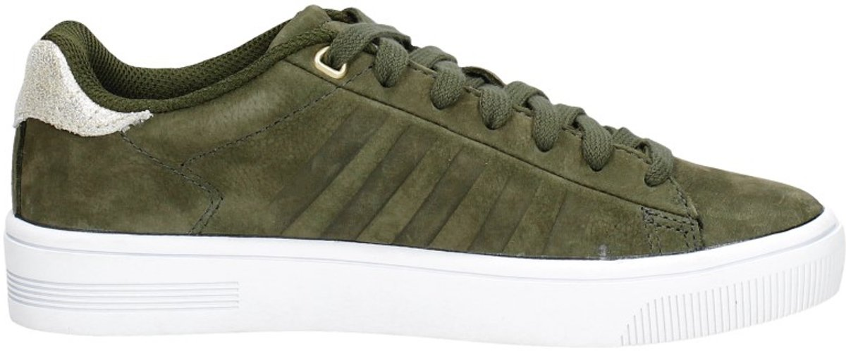 K Swiss Court Frasco groen goud sneakers dames Maat 38