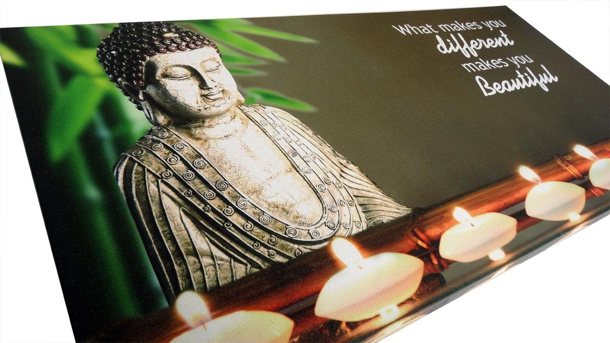 bolcom schilderij boeddha met led