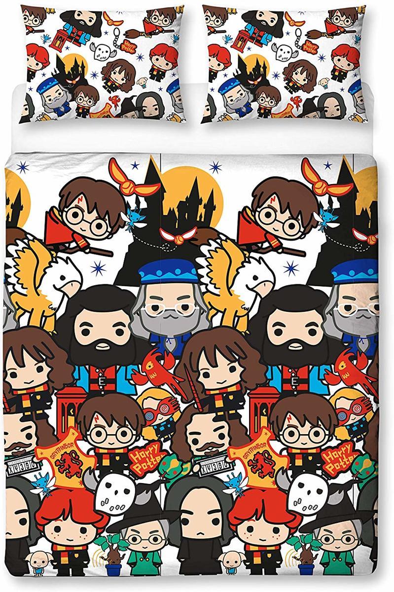 Harry Potter Dekbedovertrek 200x200 Polyester kopen