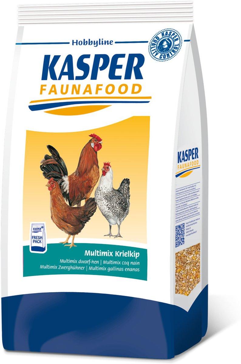 Kasper Faunafood Hobbyline Multimix Krielkip - Kippenvoer - 4 kg