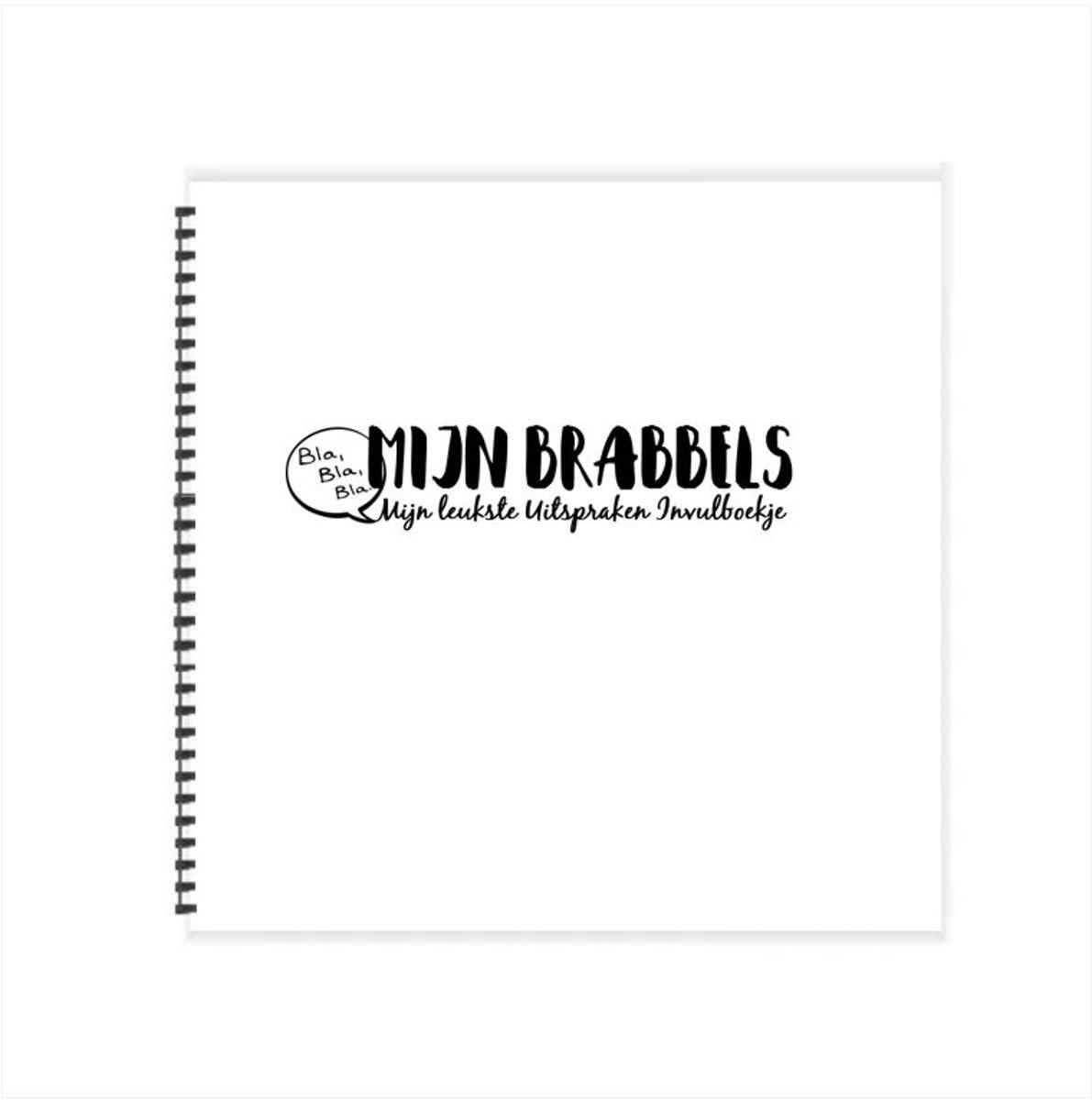 #3 - Mijn Brabbels & Uitspraken invulboekje (21 x 21 cm - Wire 0) kopen