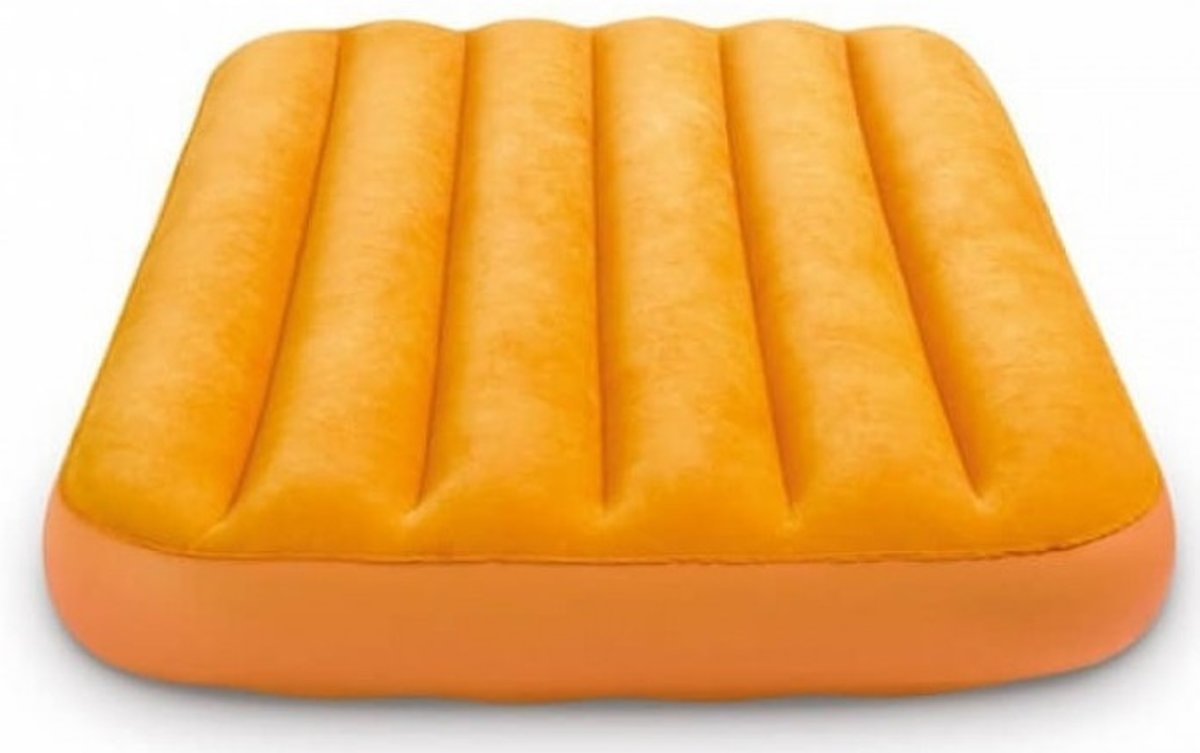 Intex Kinderluchtbed Cozy Oranje 157 X 88 X 18 Cm kopen