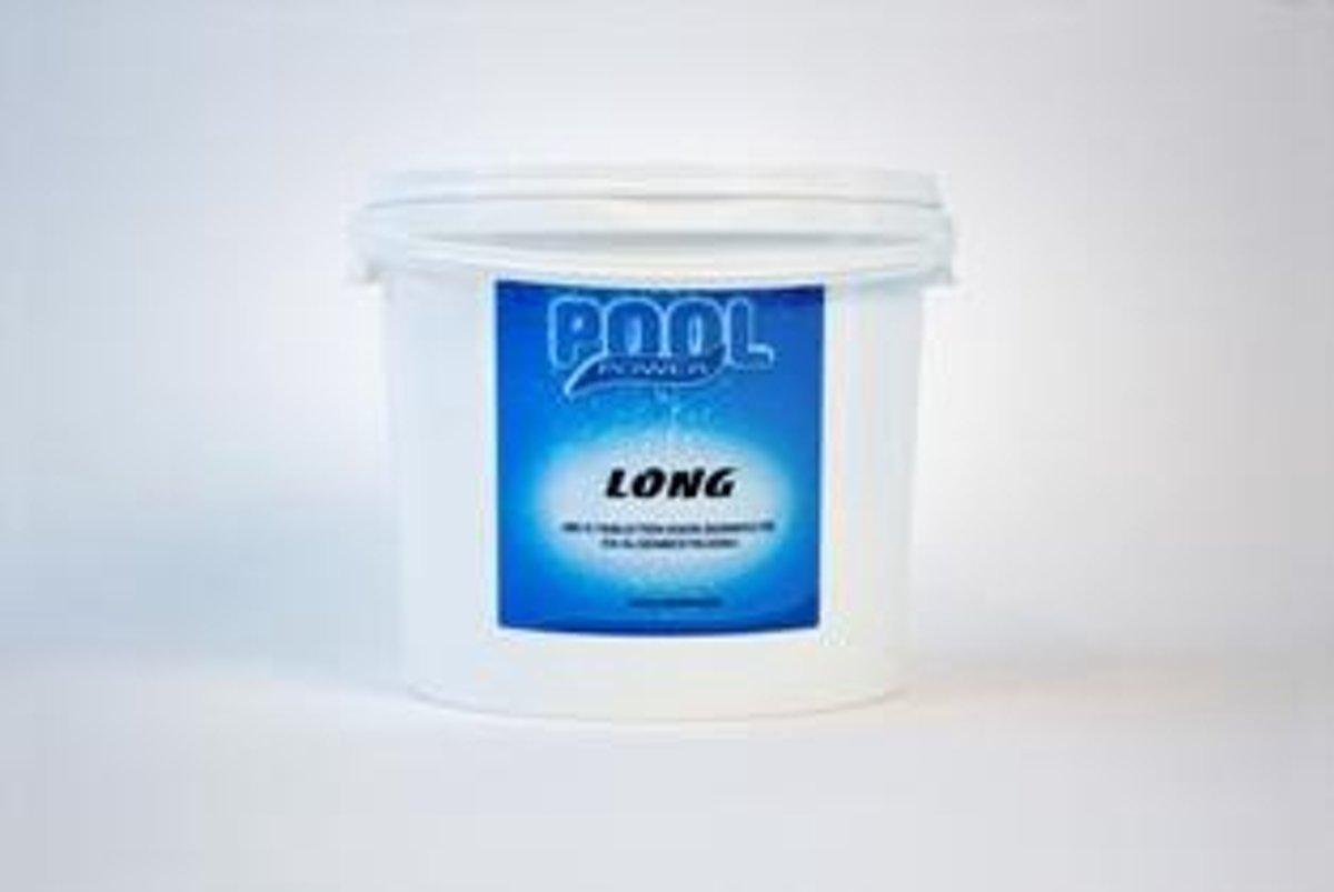 Pool Power long 200 gr. 5 kg  chloortabletten