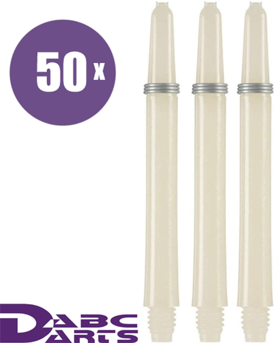 ABC Darts Shafts - Kunststof Naturel - Medium - 48 sets kopen