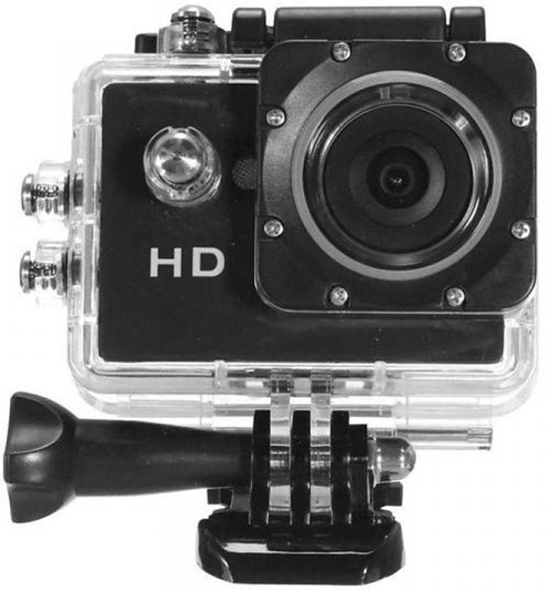 Maxx Hd Action-camera 720p Waterdicht Zwart