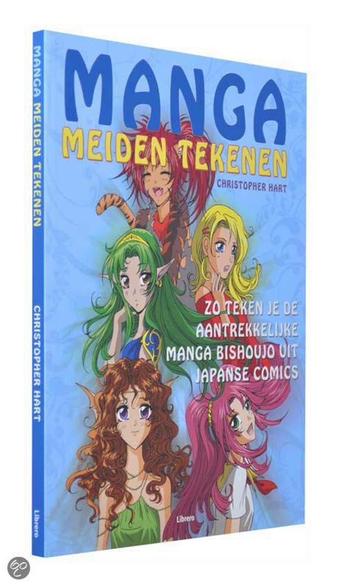 Nieuw bol.com | Manga - Meiden Tekenen, Christopher Hart | 9789057646706 YP-97