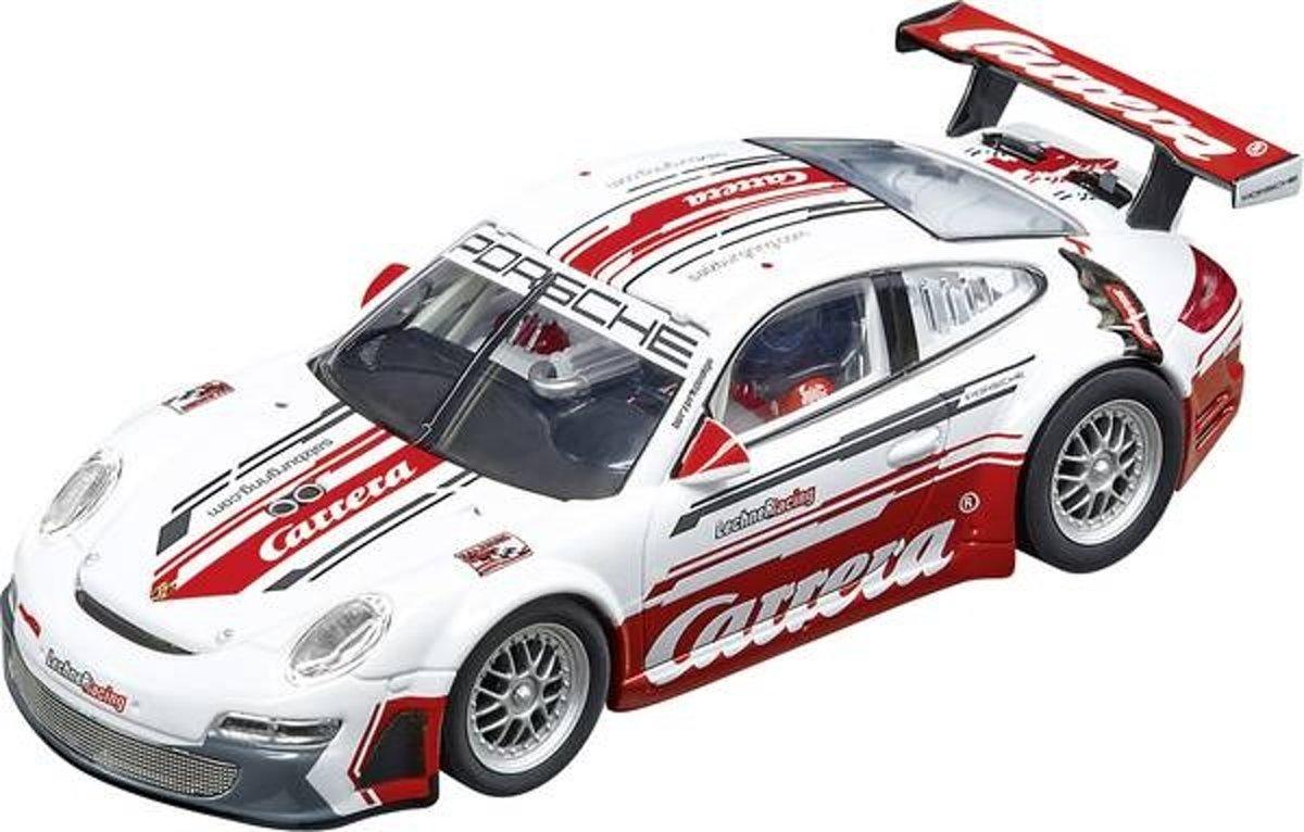 "Carrera DIG132 Porsche 911 GT3 RSR Lechner Racing ""Carrera Race Taxi"" - Racebaanauto"
