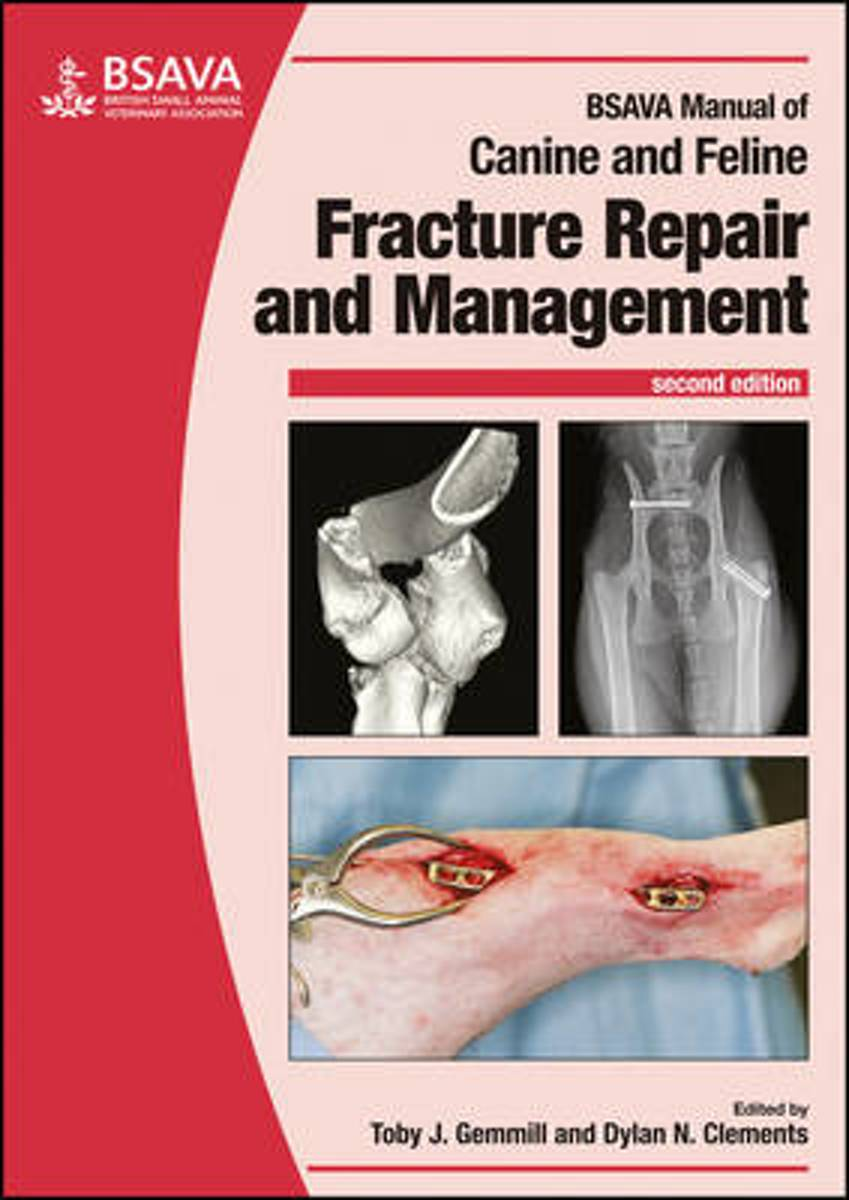 bol.com | BSAVA Manual of Canine and Feline Fracture Repair and Management  | 9781905319688 |.