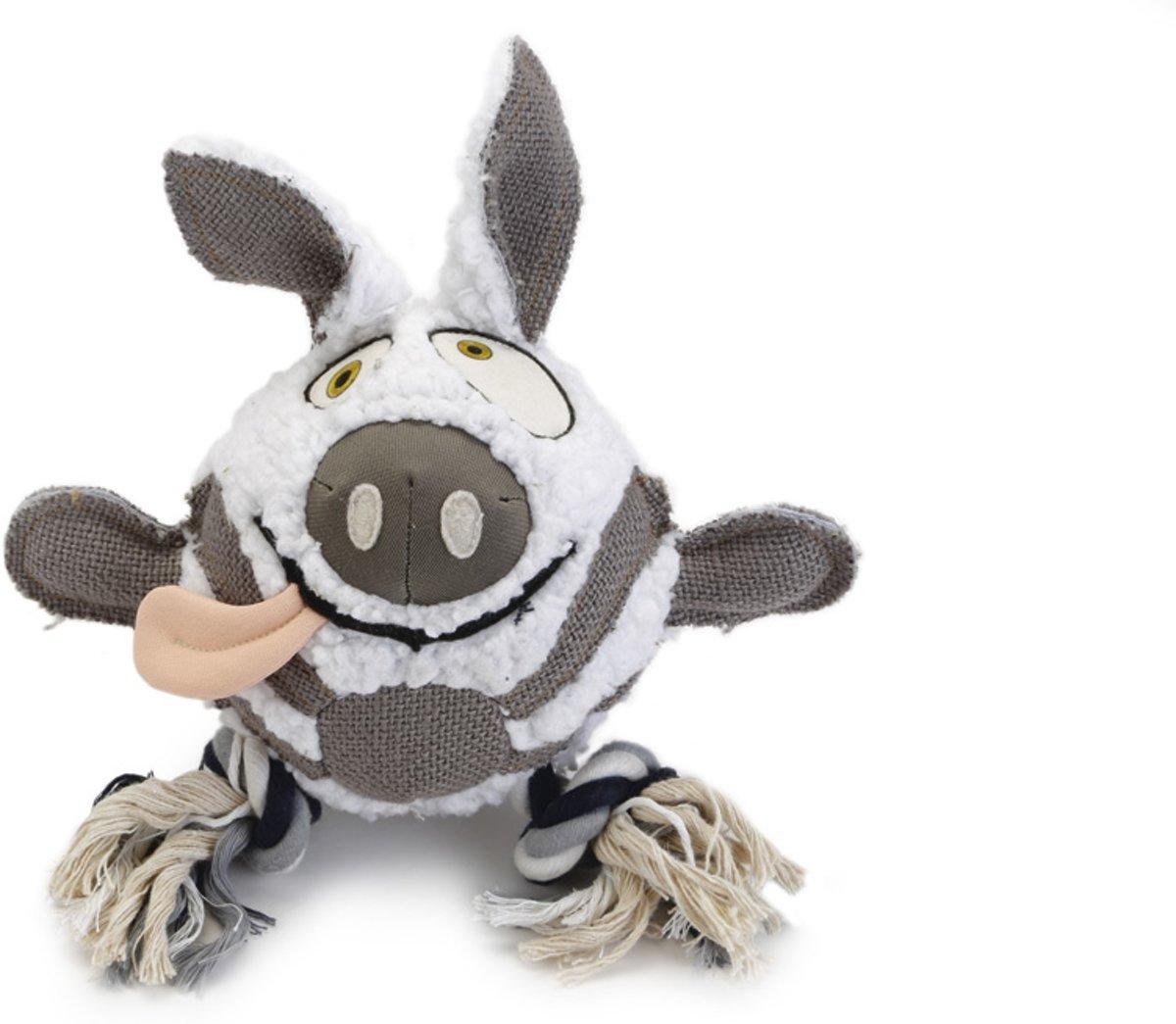 Beeztees Mula – Hondenspeelgoed – Schapenvacht – 28 cm