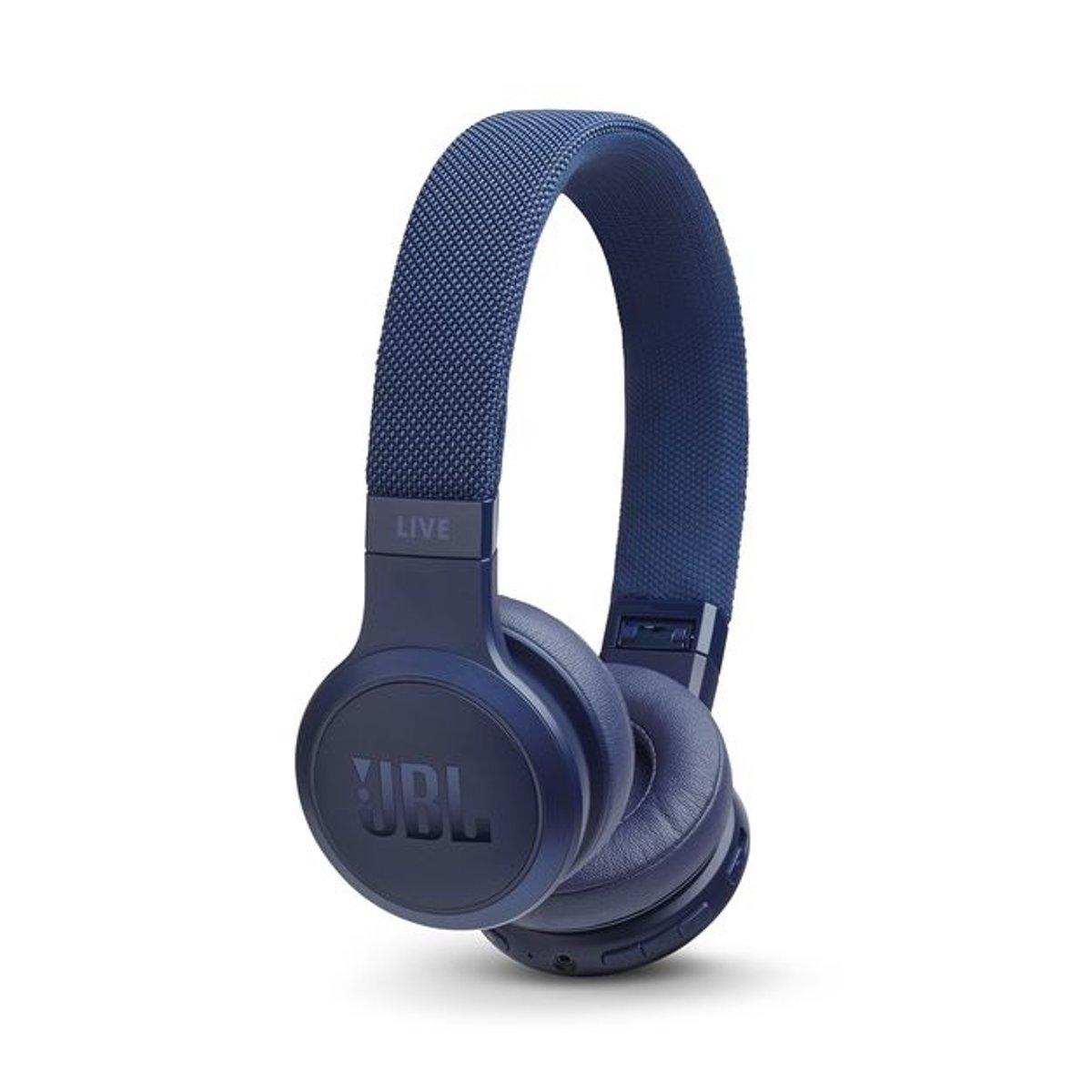 JBL Live 400BT - On-ear bluetooth koptelefoon - Blauw kopen