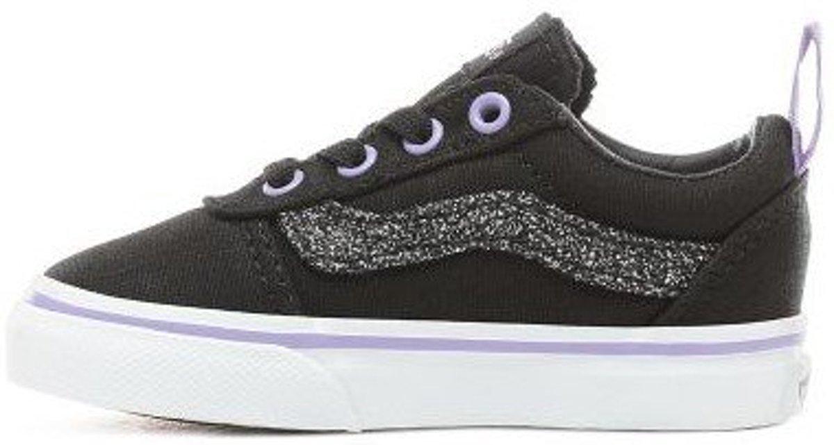 f50a91a3379 bol.com | Vans TD Ward Slip On zwart glitter sneakers baby