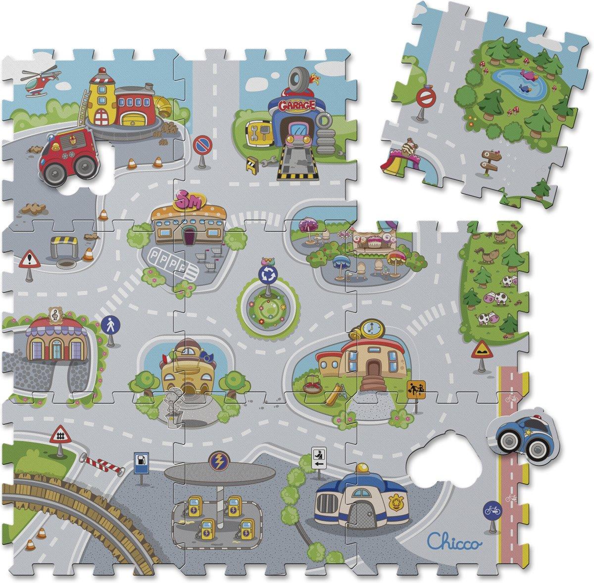 Chicco puzzel-speelmat City (1j-4j) kopen