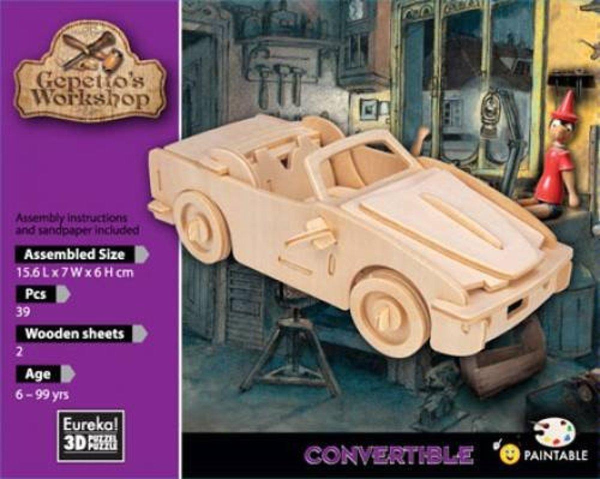 Eureka 3D Puzzel Gepetto's Cabrio - Multiplex