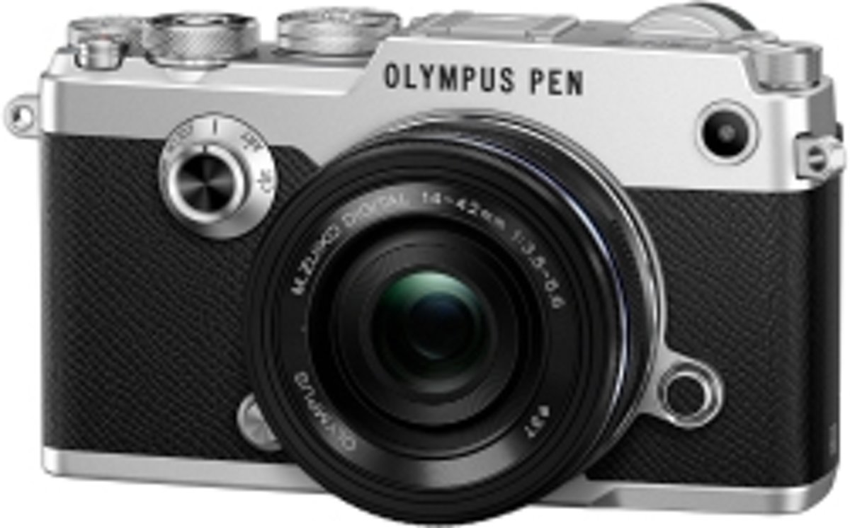 Olympus PEN-F + EZ-M 14-42 mm - Systeemcamera - Zilver