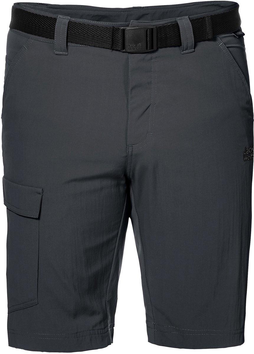 Jack Wolfskin Hoggar Shorts - Heren - Korte broek - Grijs kopen