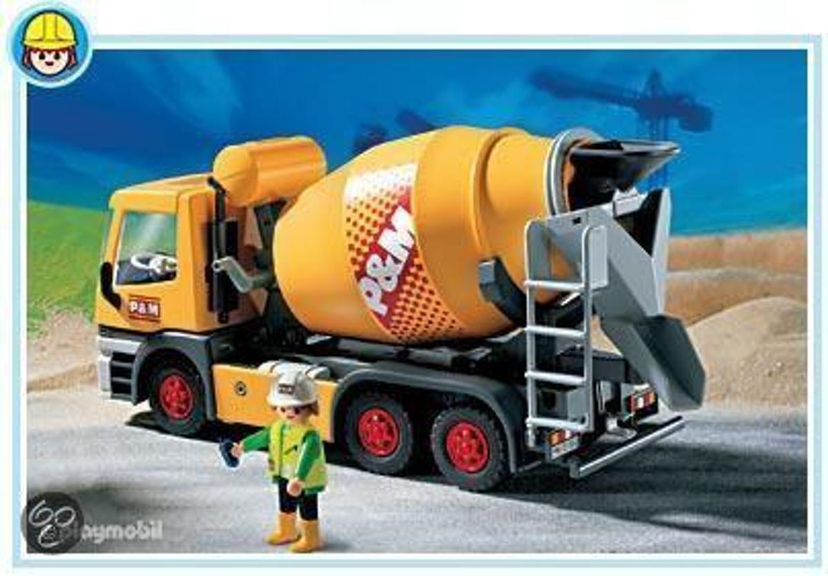 Playmobil 3263 Cementwagen