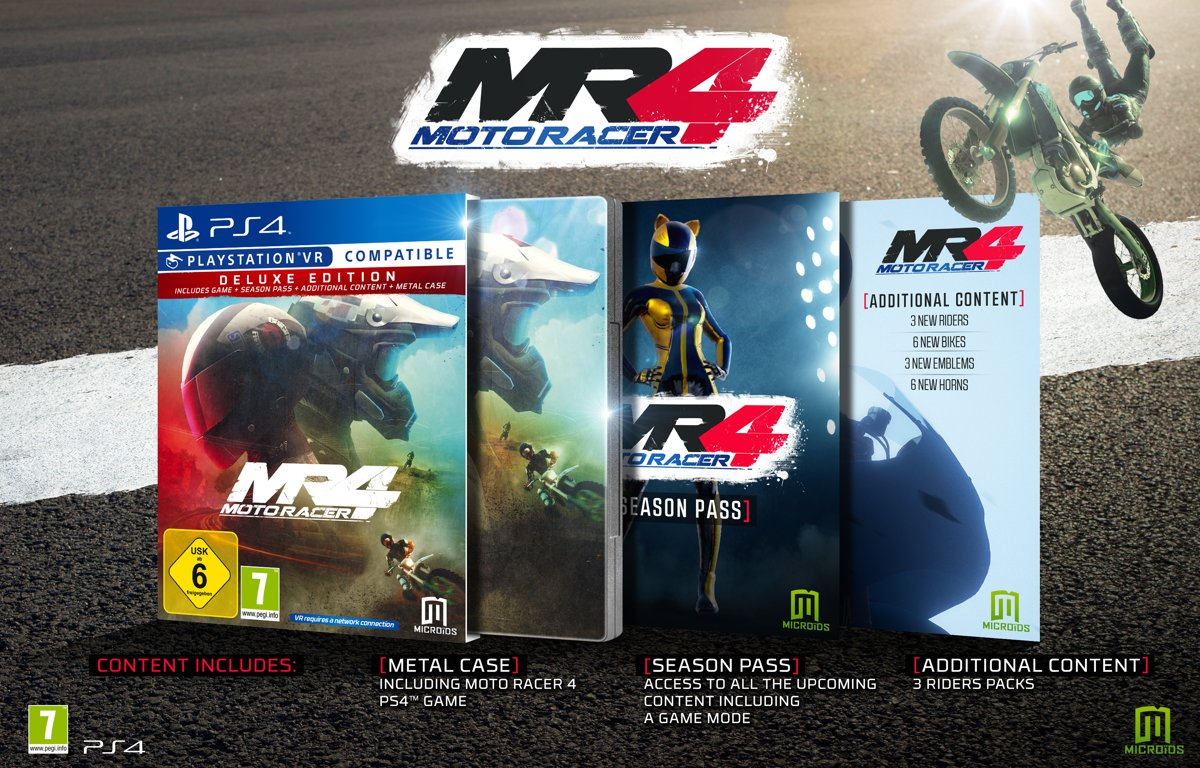 Moto Racer 4 Deluxe Edition PlayStation 4