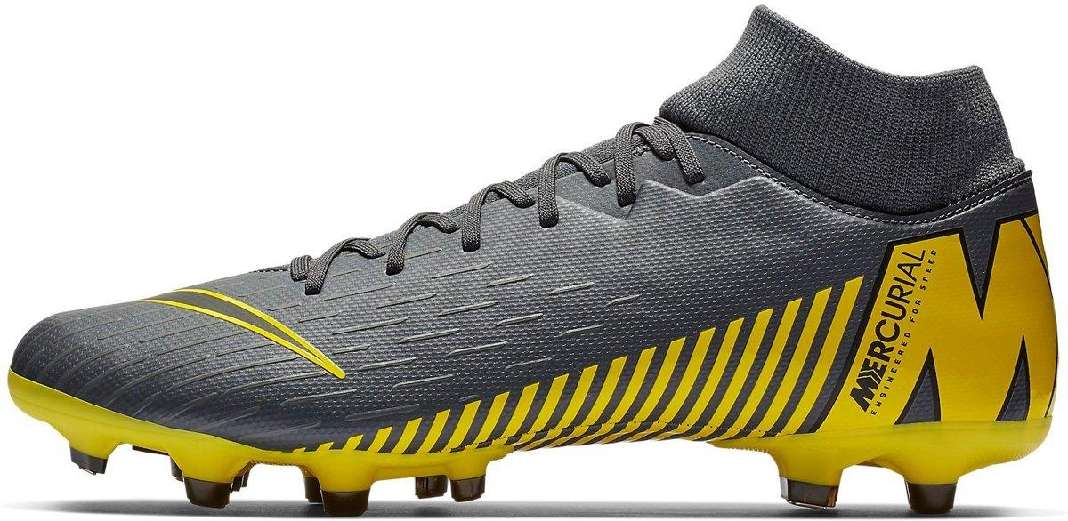 Nike Superfly 6 Academy FGMG Voetbalschoenen Heren GrijsGeel AH7362
