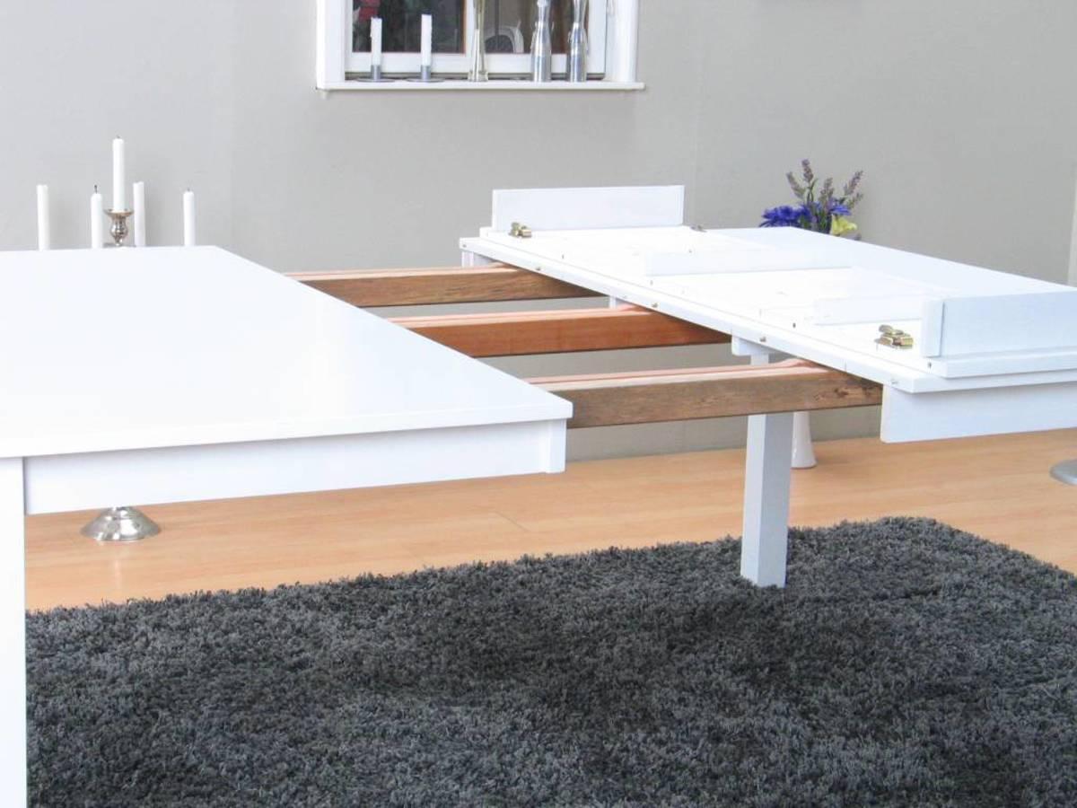 Witte Vierkante Eettafel.Bol Com Sirius Vierkante Eettafel 145x145 Cm Wit