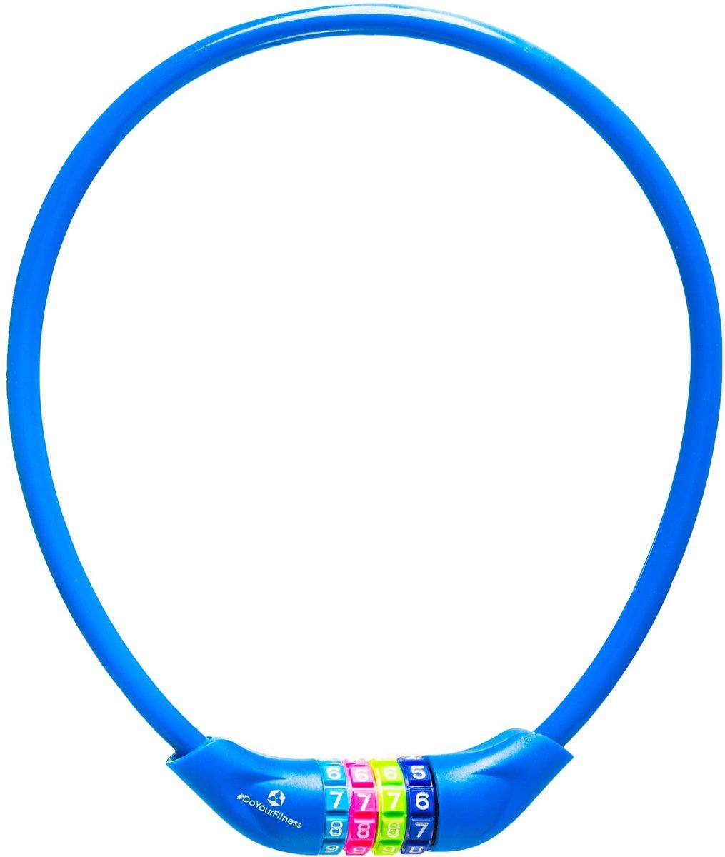 #DoYourOutdoor - Fietsslot - »Protector« - Kettingslot - L 70 cm, Ø  25 cm, dikte ca. 3/4 mm - marineblauw
