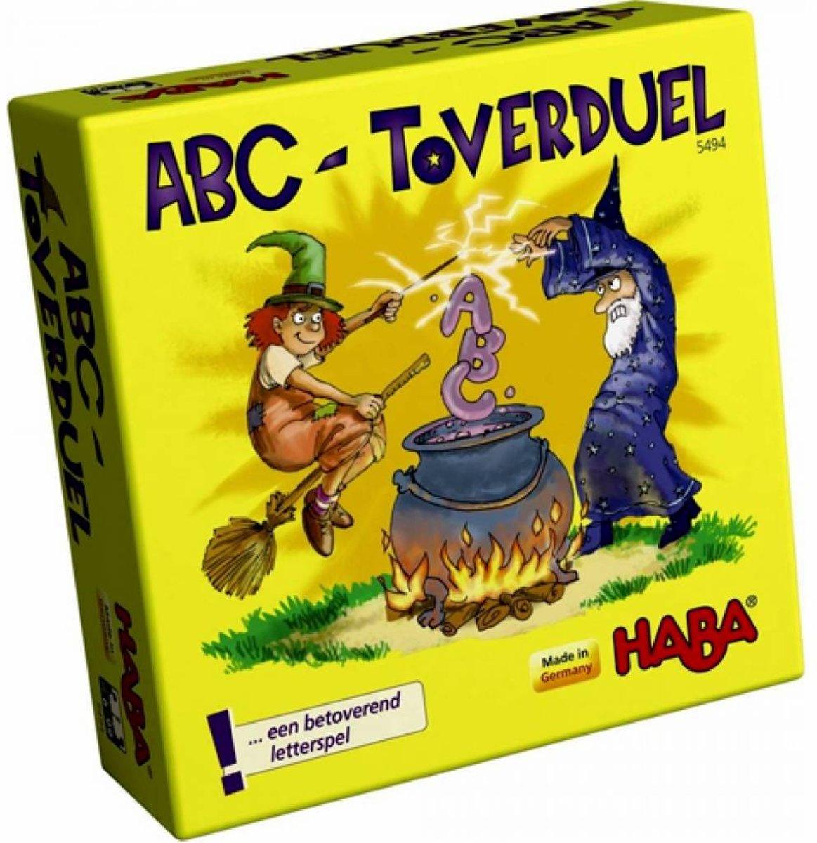Haba Spel Spelletjes vanaf 6 jaar ABC Toverduel kopen