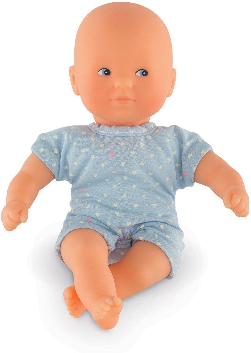 Corolle babypopje mini calin Sky 20cm pop popje zacht.