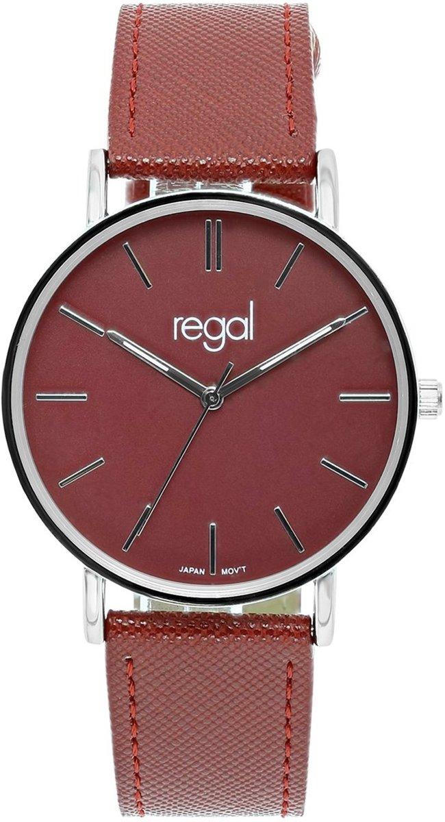 Regal - Regal slimline horloge met een rode band kopen