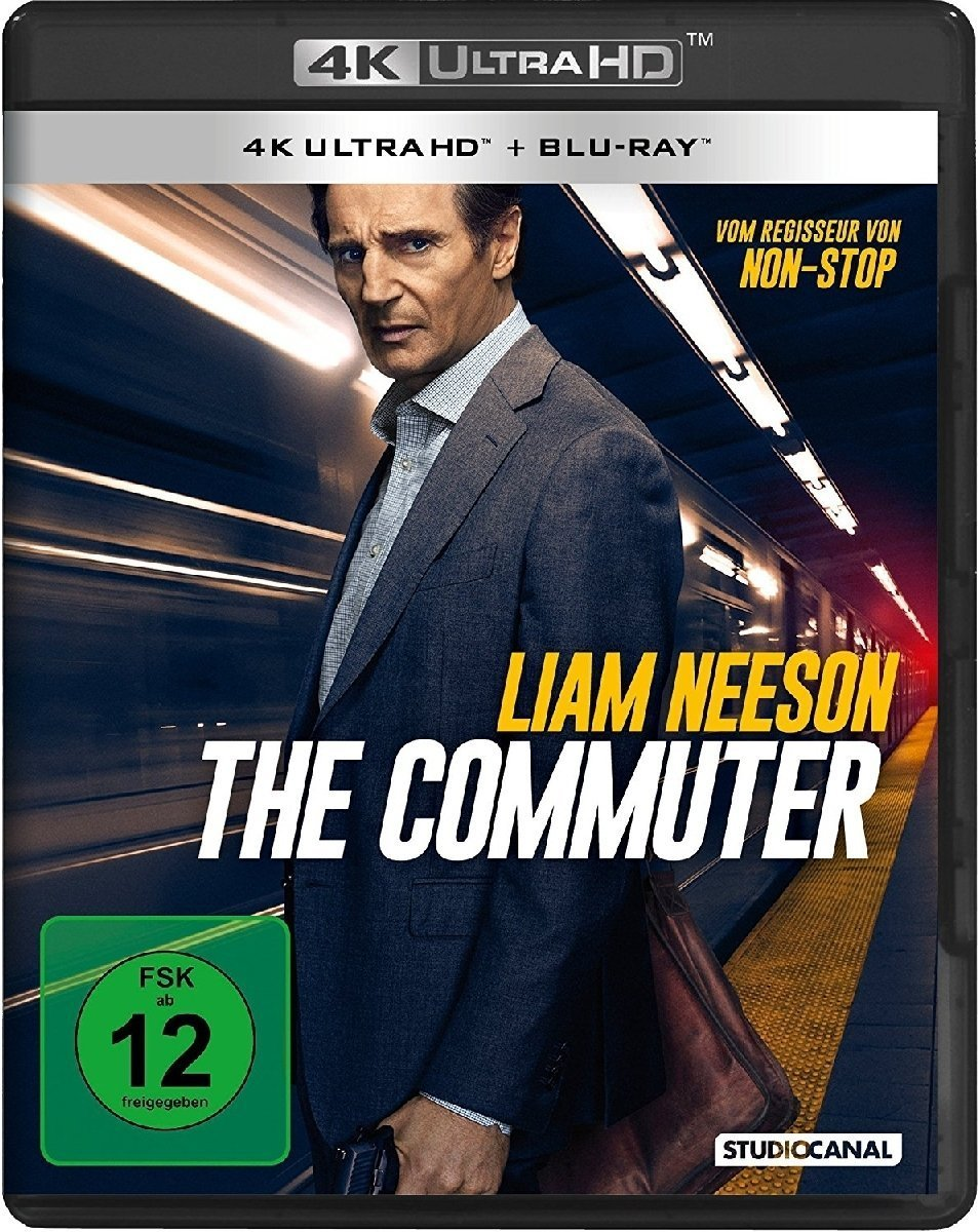The Commuter (Ultra HD Blu-ray & Blu-ray)-