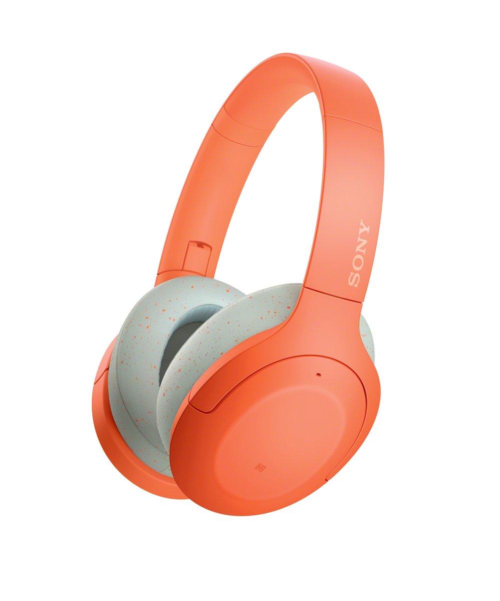 Sony WH-H910N - Noise cancelling koptelefoon - Oranje kopen