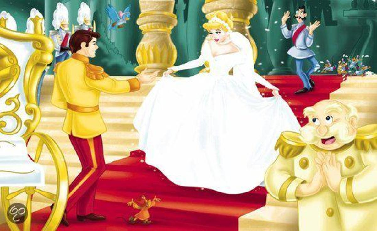 4 in 1 Puzzel Disney Prinsessen