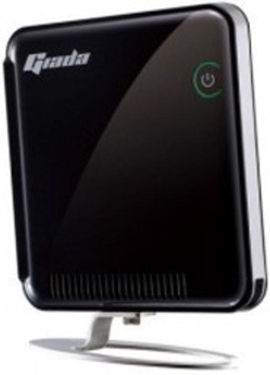 Giada N20-B2534 thin client 1,8 GHz D525 Zwart 680 g kopen