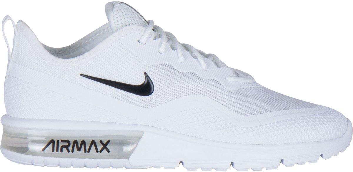 Nike Air Max Sequent 4.5 Sneakers Maat 40 Vrouwen witzwart