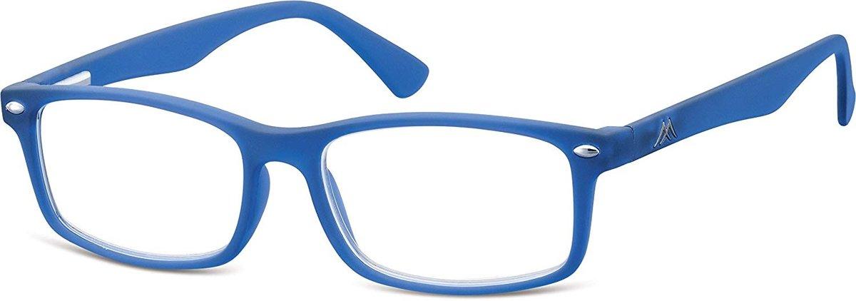 Montana Leesbril Unisex Rechthoekig Blauw (mr83c) Sterkte +1.00 kopen