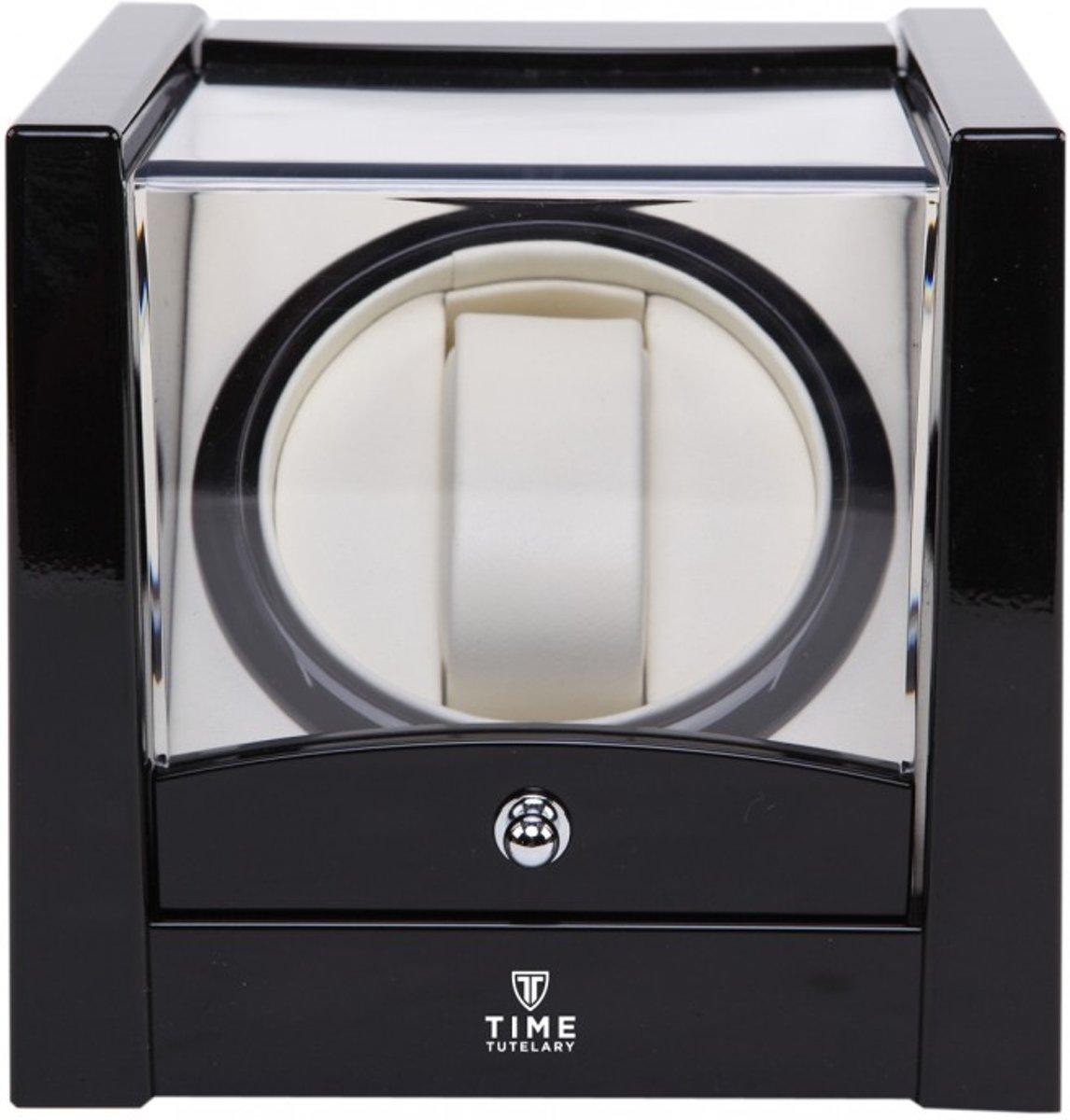 Time Tutelary Watchwinder 1 Horloge - Horloge Opwinder - Hoogglans Zwart - Automatisch kopen