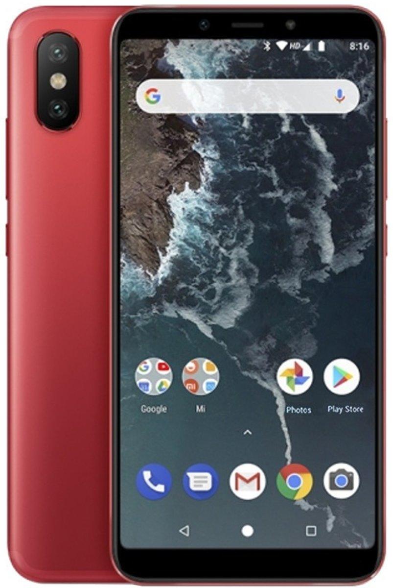Xiaomi Mi A2 5,99 inch Android 8.1 Octa Core 3010mAh 4GB/64GB Rood kopen