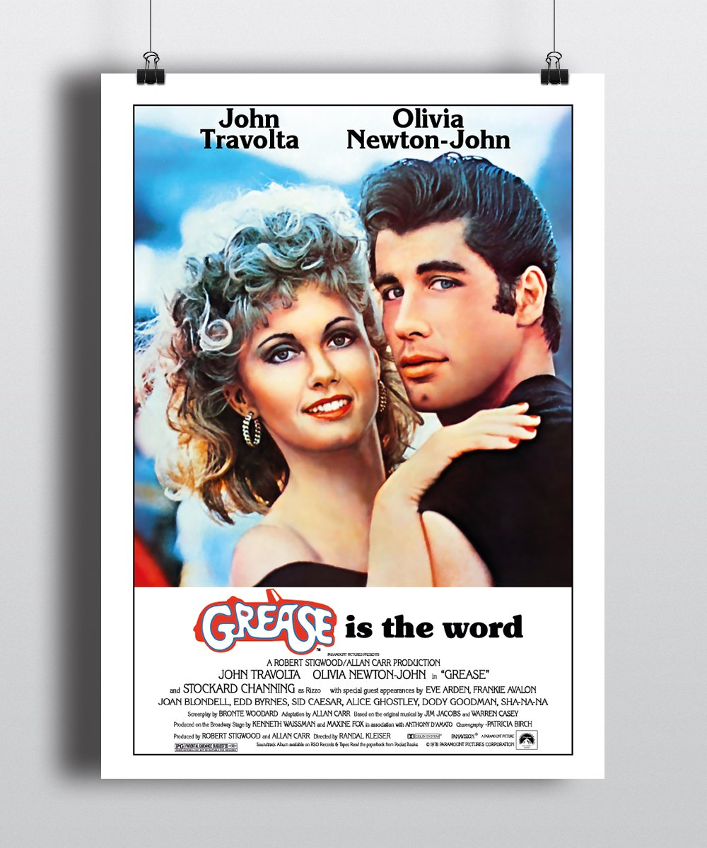 Poster film Grease 1978 kopen