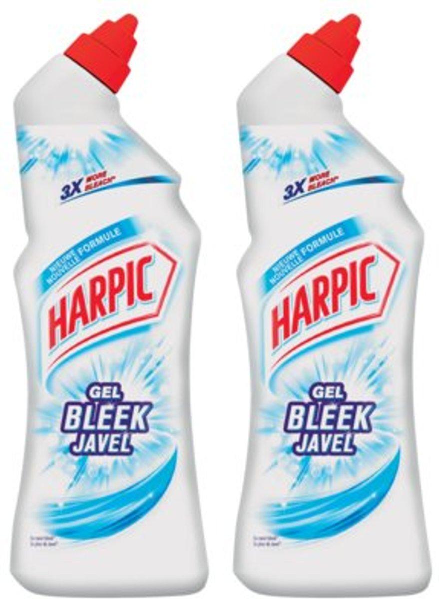 Harpic - White & Shine Original - Toiletreiniger - 2 x 750 ml kopen