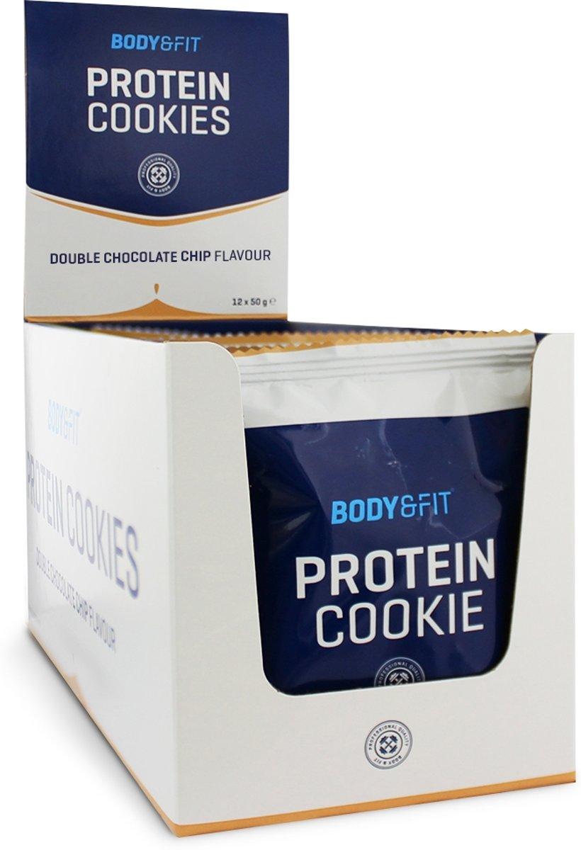 Body & Fit Protein Cookies - Eiwitrijk - 1 box (12 cookies) - Almond Cookie kopen