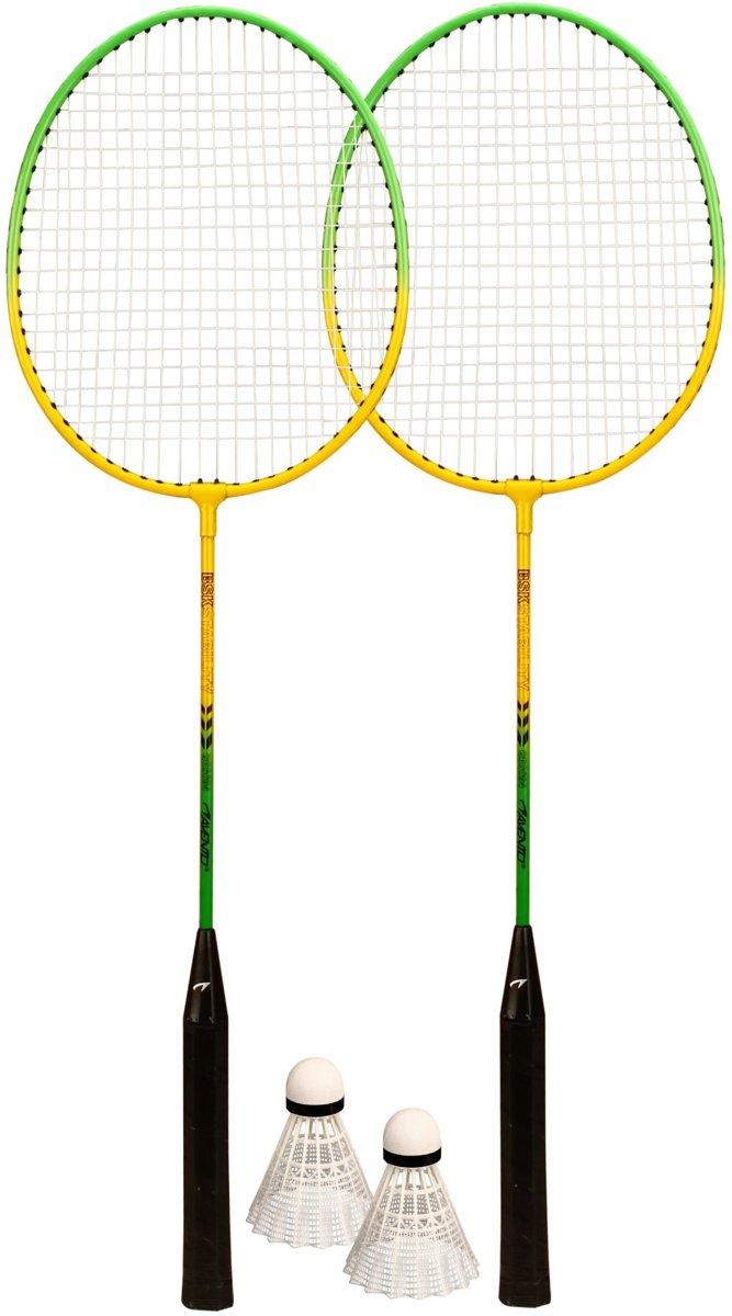 Avento Badminton Set - Geel